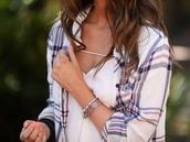 blouse,white dress,plaid,black dress,brunello cucinelli,bikini,style,underwear,sunglasses,hair accessory,hat,jewels
