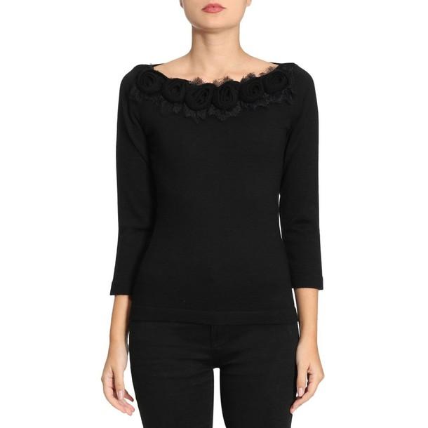 Blumarine sweater women black