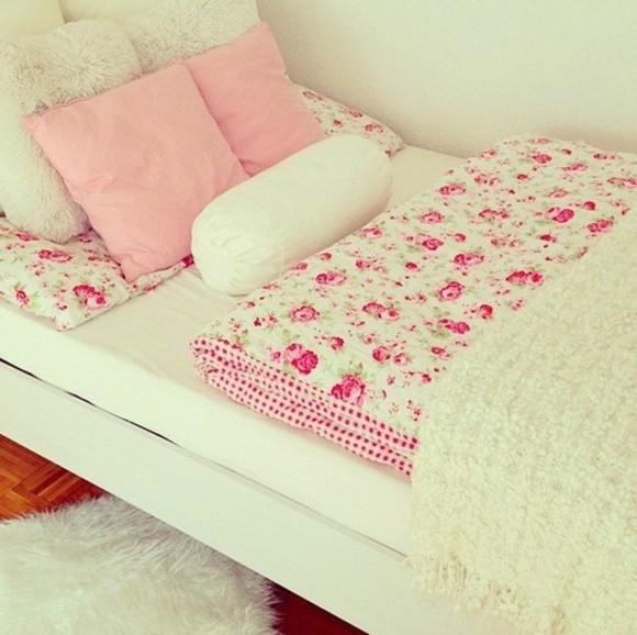 romantic bedding roses girly
