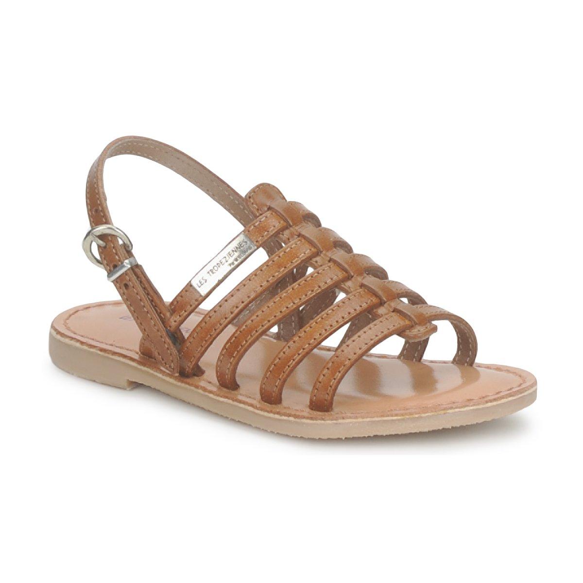Sandalias Les Tropéziennes par M Belarbi MANGUE Tan - Entrega gratuita con Spartoo.es ! - Zapatos Nino 32,00 €