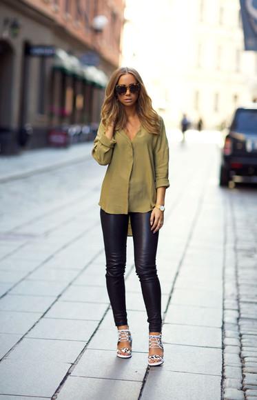 jewels blogger sunglasses shoes lisa olsson