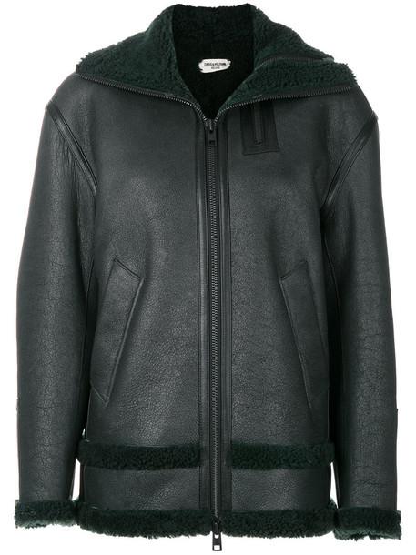 Zadig & Voltaire jacket women green