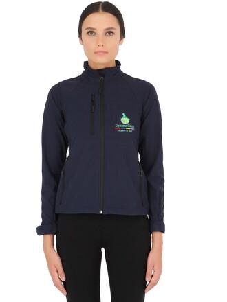 jacket casual shell soft navy