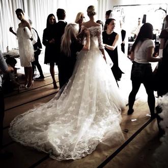 dress bride wedding dress wedding wedding dress lace dreamcatcher necklace