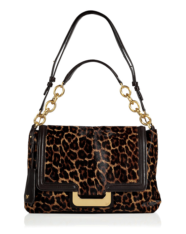 Leopard Haircalf New Harper Connect Bag from DIANE VON FURSTENBERG | Luxury fashion online | STYLEBOP.com