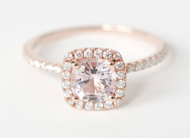 jewels rose gold ring engagement ring