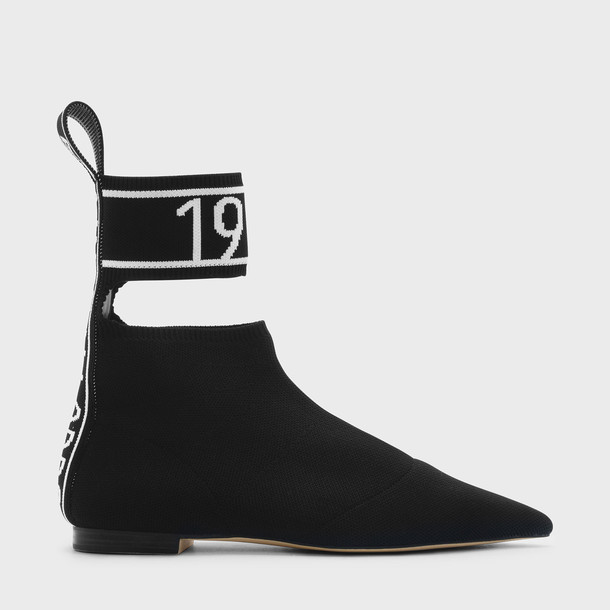 ankle strap black shoes