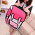New arrival style top cartoons bag 2d three dimensional color block 3d double shoulder back school bag-inHandbags from Luggage & Bags on Aliexpress.com