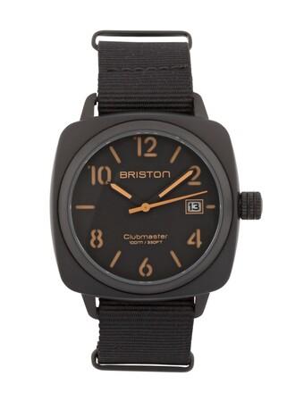 classic watch black jewels