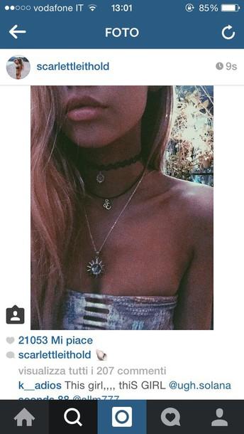 jewels Accessory pia mia perez necklace swimwear