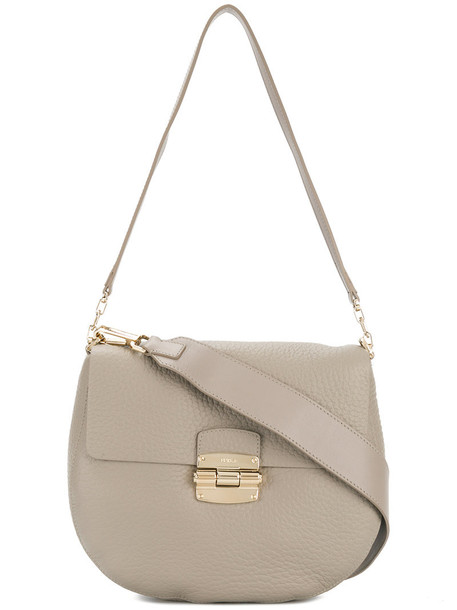 women bag crossbody bag leather grey