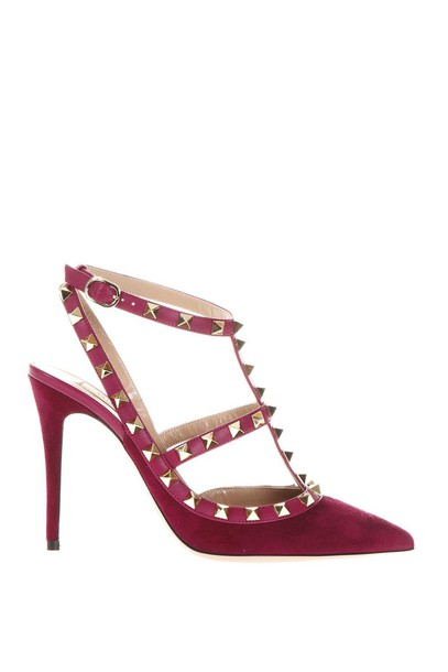 heel ankle strap shoes