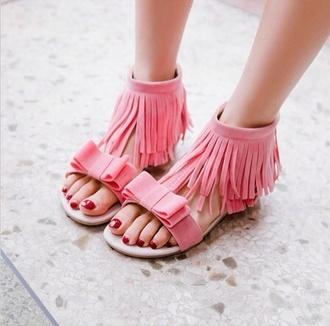 shoes brown shoes fringe fringe shoes