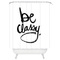 Be classy shower curtain