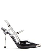 pumps,leather,white,black,shoes