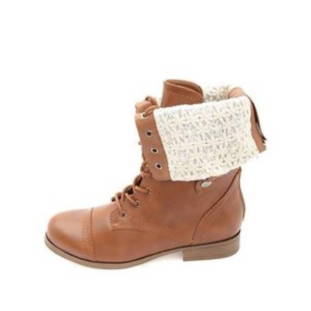 shoes lace up boots fold over boots brown boots ankle boots fall outfits fall outfits winter boots style cute cute shoes love