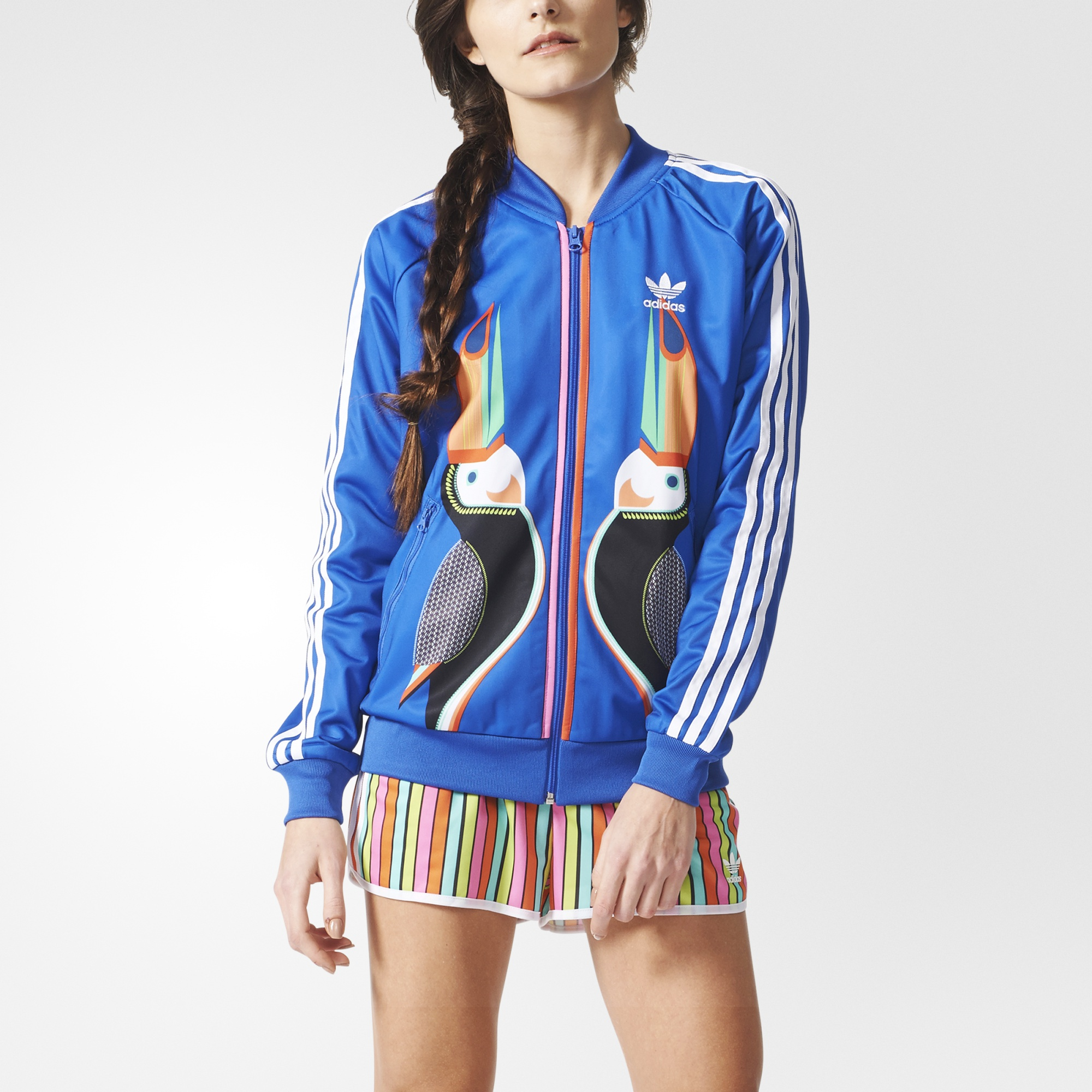 a713380b3 adidas Supergirl Track Jacket - Multicolor | adidas US