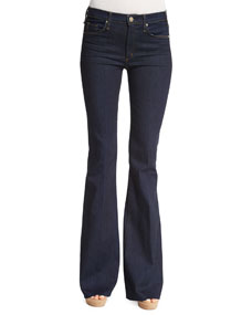 The Majorelle Flare Jeans, When Heaven Fell