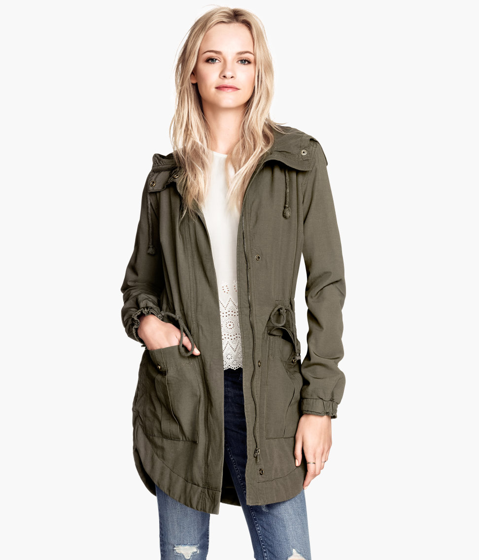 newest 4d2e5 33a59 H&M Padded parka £29.99