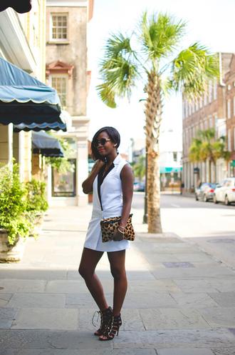 alicia tenise blogger dress shoes bag sunglasses jewels