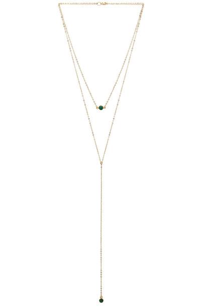 Mimi & Lu layered necklace layered necklace metallic gold jewels