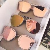 sunglasses,pink,rose gold,summer,sunnies,beach,pink sunglasses