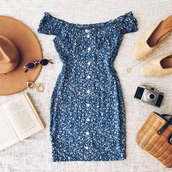 dress,blue dress
