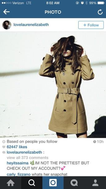 jacket trench coat