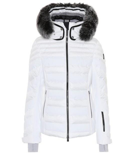 TONI SAILER jacket fur white