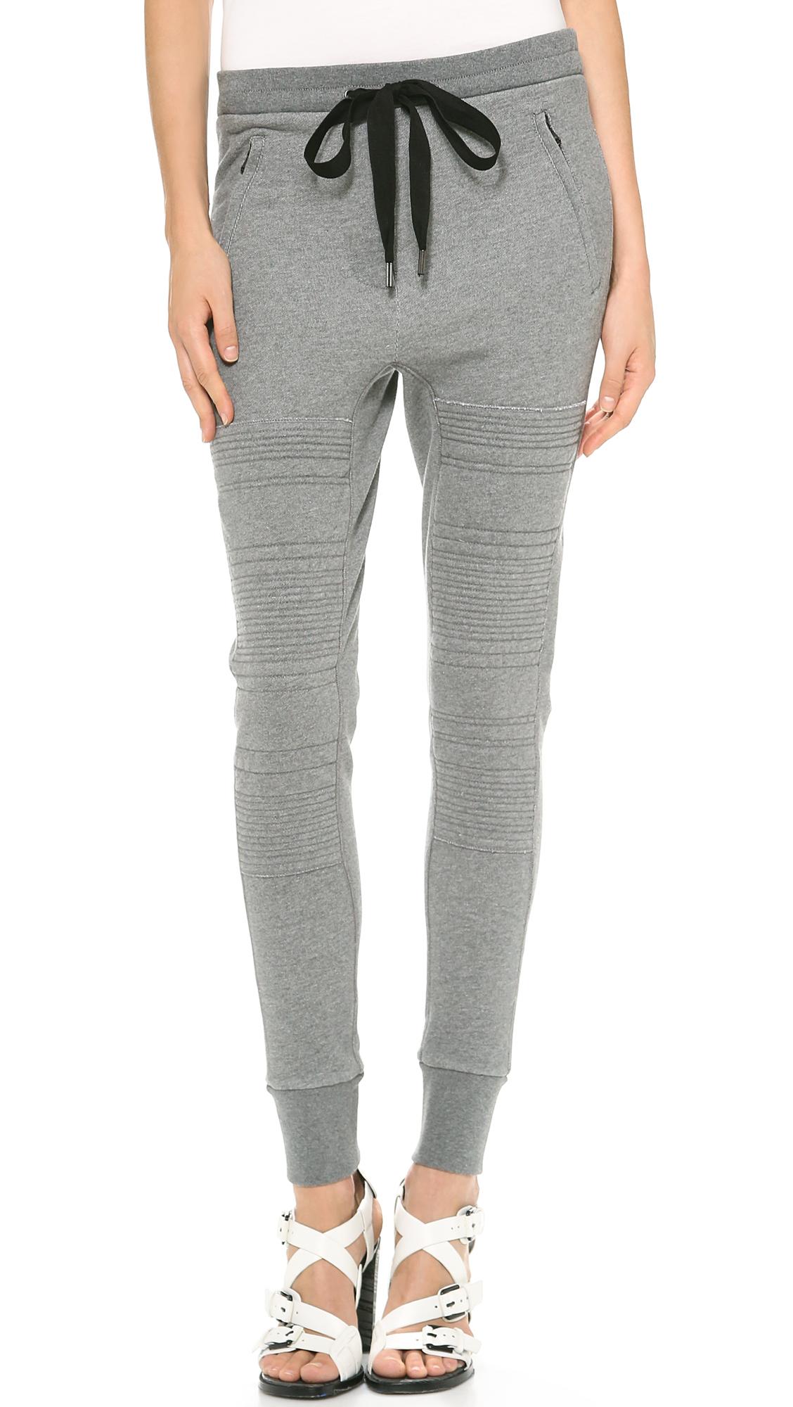 3.1 phillip lim stitched panel track pants