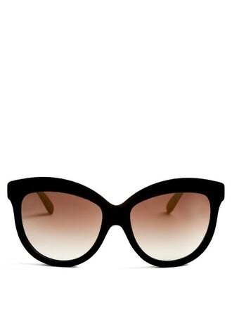 sunglasses velvet black
