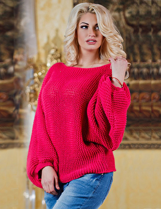 sweater sweatshirt red knitwear knitted sweater free people outfit