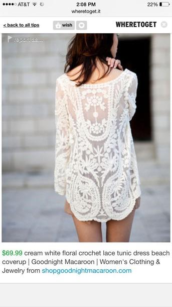 swimwear lace dress