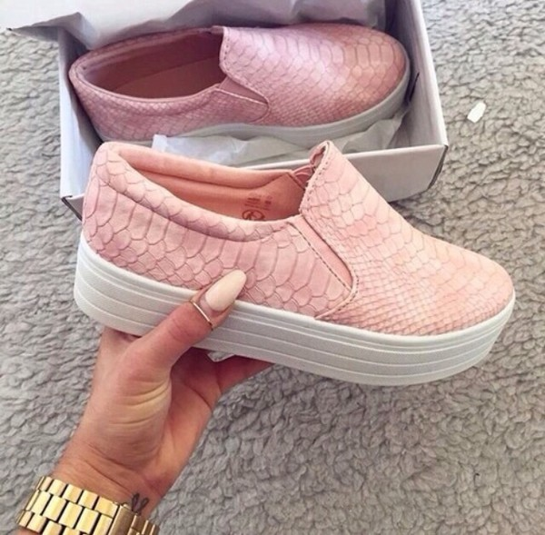 shoes pink shoes leather pink