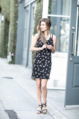 ashlee frazier blogger dress printed dress