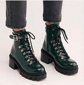shoes,green,boots,leather,straps