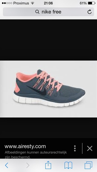 shoes nike running shoes grey shoes pink shoes nike shoes nike free run