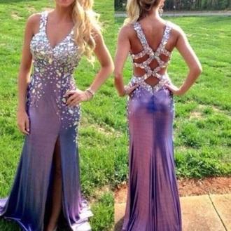 dress purple dress purple prom dresses prom dress prom dresses open back prom dress