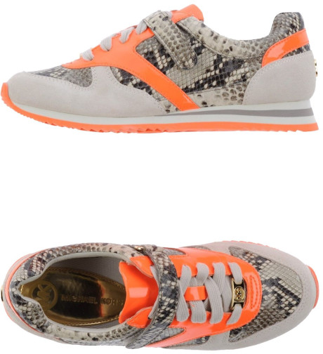 Michael By Michael Kors Sneakers in Orange | Lyst