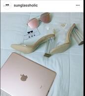 sunglasses,sunglassholic,miami style,make-up,fashion,heels,fashion inspo,rose gold,shades,sunnies,style