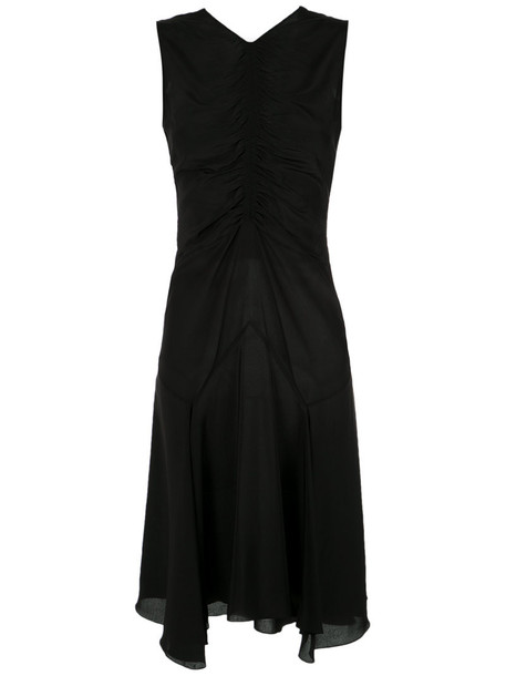 Reinaldo Lourenço dress silk dress women black silk