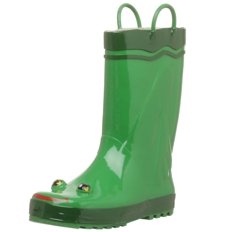 Amazon.com: western chief women's frog rain boot, green, 5 m: frog shoes: shoes