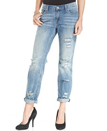 RACHEL Rachel Roy Rebel Boyfriend Jeans - Jeans - Women - Macy's