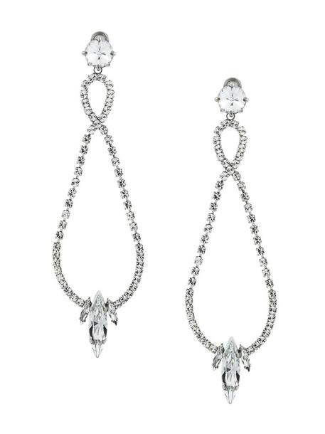 Miu Miu metal women earrings grey metallic jewels