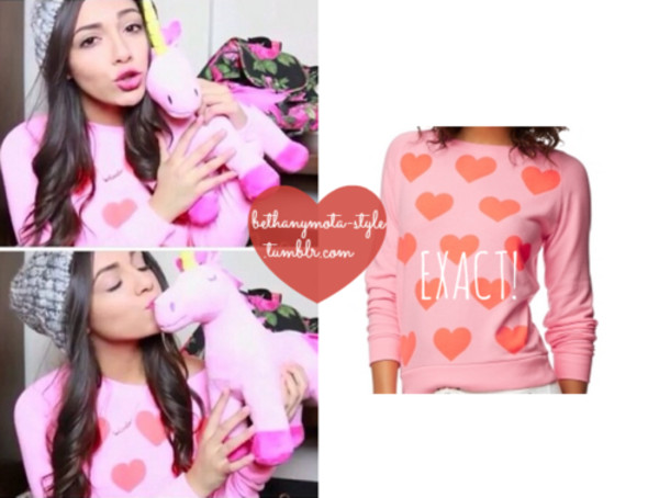 sweater bethany mota