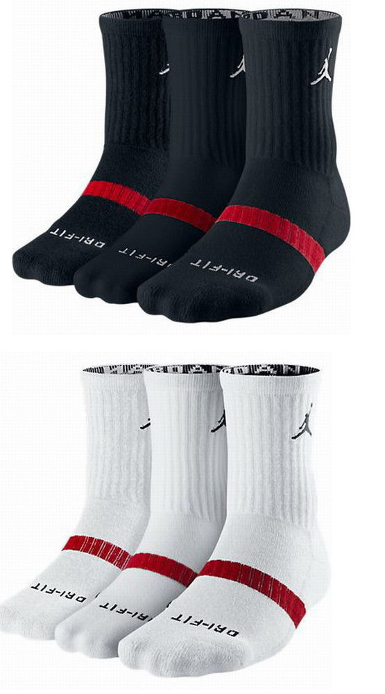 nike air jordan crew socks