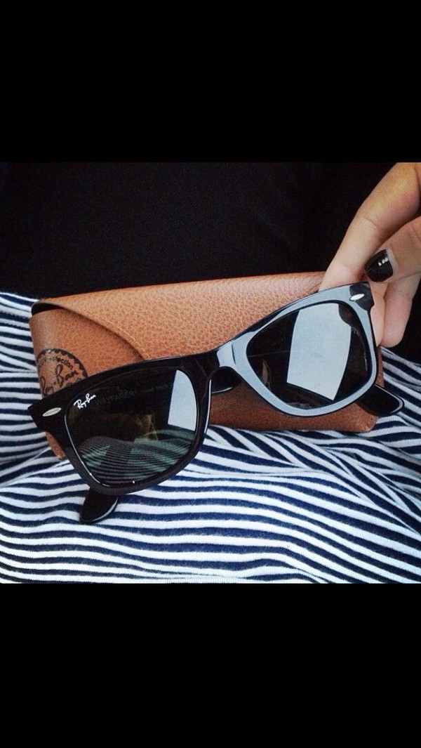 sunglasses rayban black