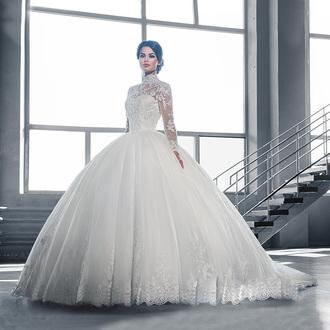 dress wedding dress wedding gown wedding dresses 2016 princess wedding dresses long sleeve dress long sleeve wedding dress ball gown wedding dresses