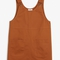 Monki   view all clothing   rounded neck dungaree dress