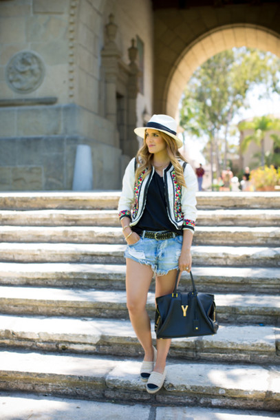 gal meets glam jacket t-shirt belt shoes bag jewels